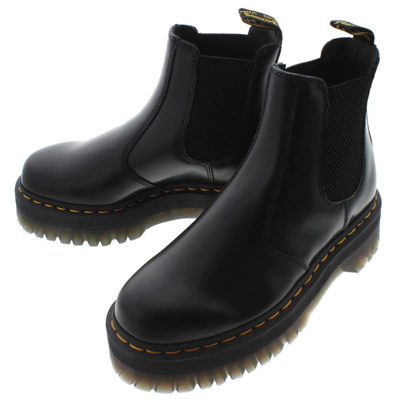 ドクターマーチン Dr.Martens 2976 クアッド QUAD チェルシー ブーツ ブラック 24687001【FNON】