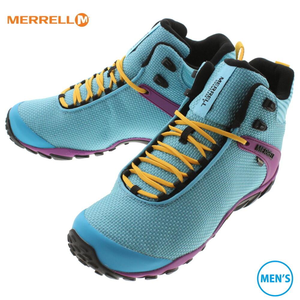 メレル MERRELL カメレオン 8 ストーム ミッド ゴアテックス CHAM 8 STORM MID GTX ボタン J034099【GOOL】