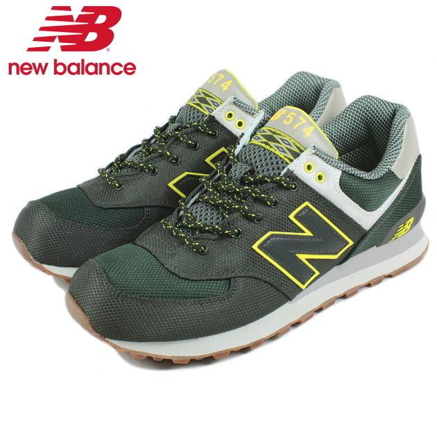 new balance ml574 dark green
