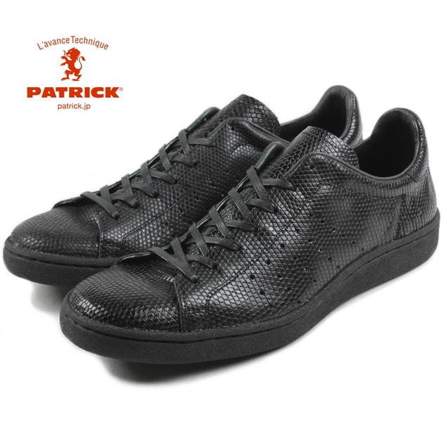 交換・返品送料無料 パトリック PATRICK LIZARD-P リザード パンチ BLK ブラック 15631【FKOF】