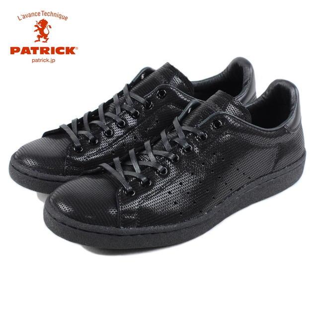交換・返品送料無料 パトリック PATRICK PUNCH WAVE パンチ ウェーブ BLK ブラック 528091【FKOG】