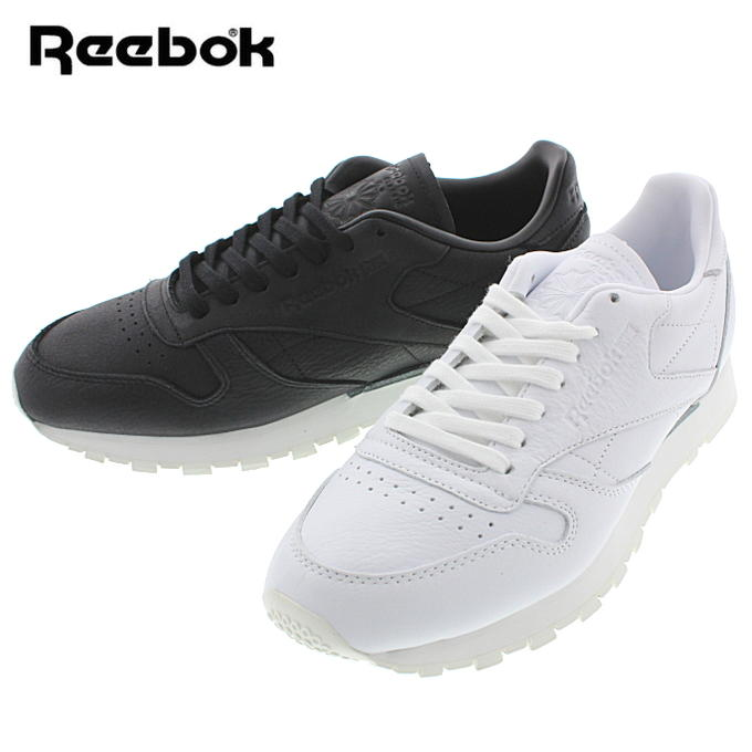 リーボック Reebok クラシック レザー CL LEATHER OMN (BD1905)ホワイト/クラシックホワイト (BD1906)ブラック/クラシックホワイト【FLOI】