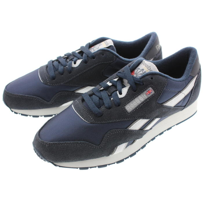 2b95d03a184 Reebok Reebok sneakers classical music nylon CL NYLON team navy   platinum  39749