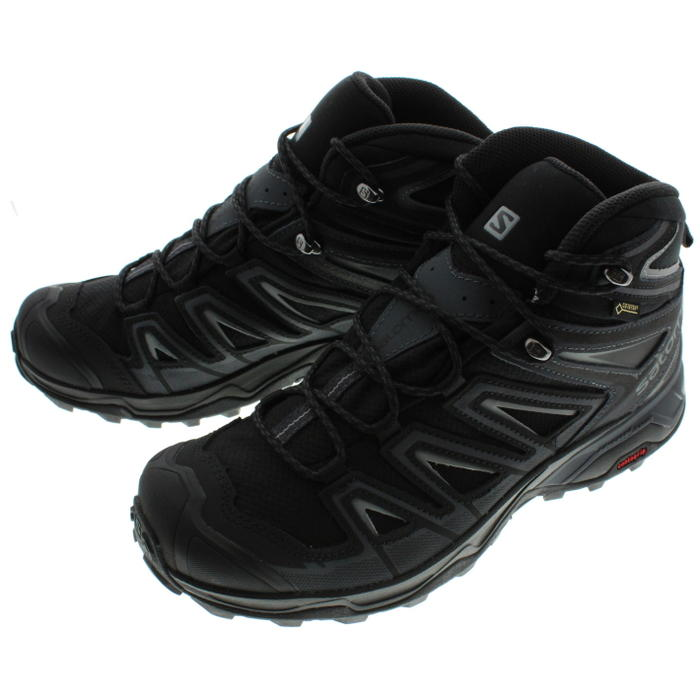 669965c8d51 It is Salomon salomon hiking shoes X ultra 3 mid Gore-Tex X ULTRA 3 MID GTX  black / India ink / monument 398674 [during period-limited 10% OFF coupon  ...