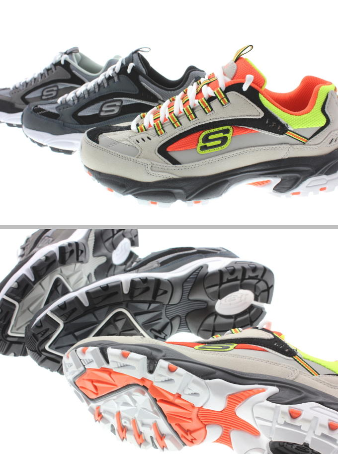 スケッチャーズ SKECHERS sneakers STAMINA CUTBACK 51286 NVBK (navy black) CCBK (charcoal black) GYOR (gray orange)