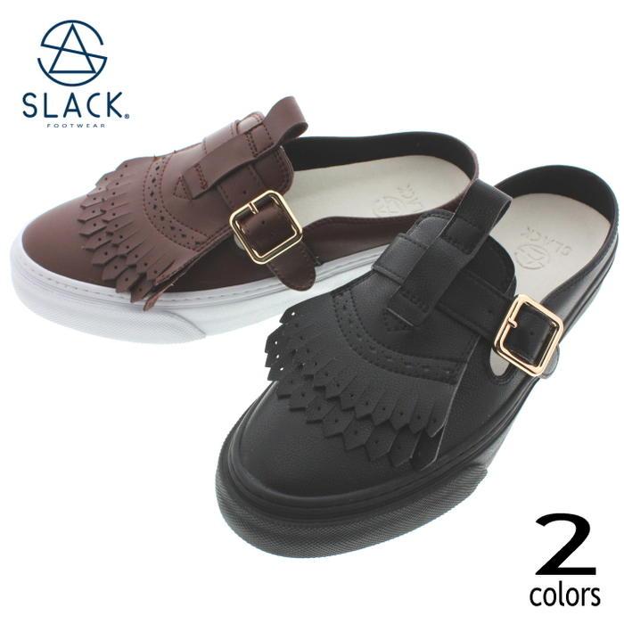 スラック SLACK スニーカー メイビス MAVIS SL1569 ブラック/ブラック(003) ブラウン/ホワイト(654) 【FNOH】