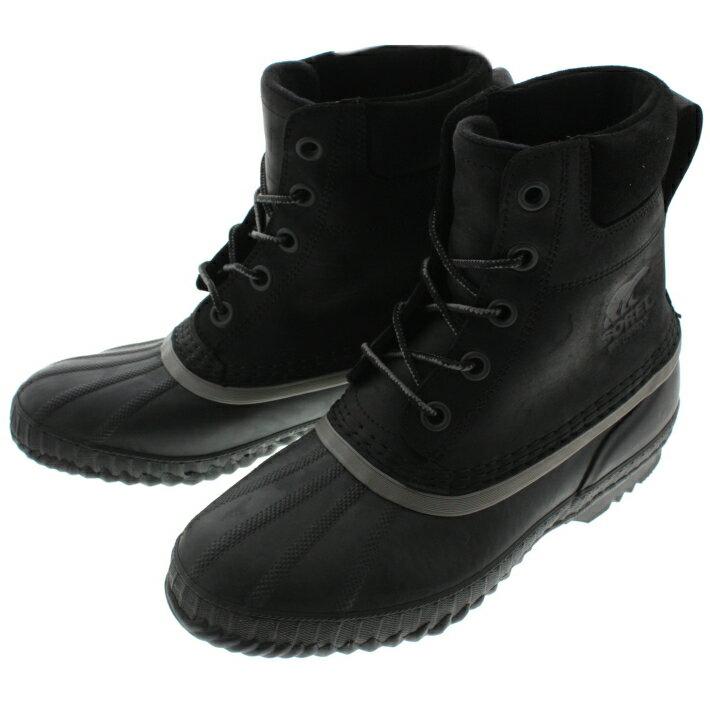 ソレル SOREL ブーツ シャイアン 2 CHEYANNE 2 ブラック/ブラック NM2575-010 【FMFO】
