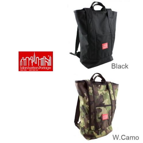 定番 Manhattan Portage マンハッタンポーテージ Riverside Backpack リバーサイド バックパック 1318 [BG]
