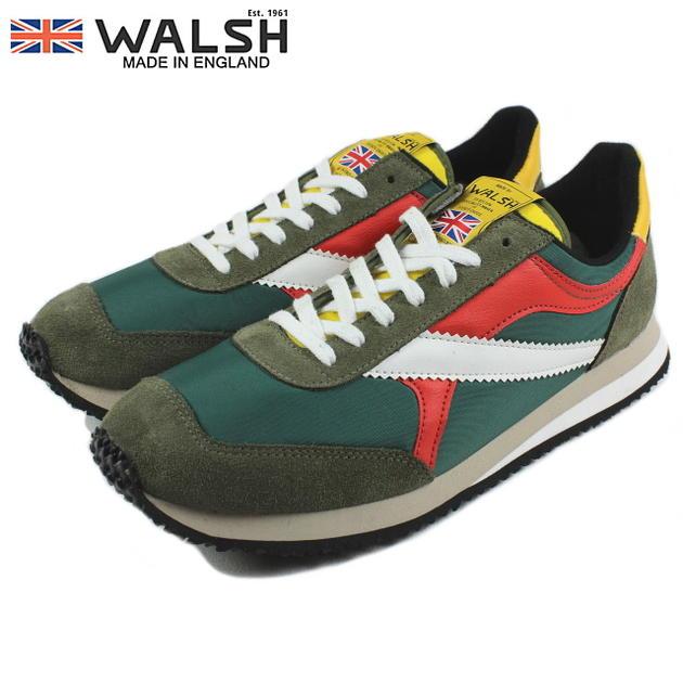 WALSH ウォルシュ TORNADE トルネード グリーン/イエロー/レッド/ホワイト TOR50003【FKOH】