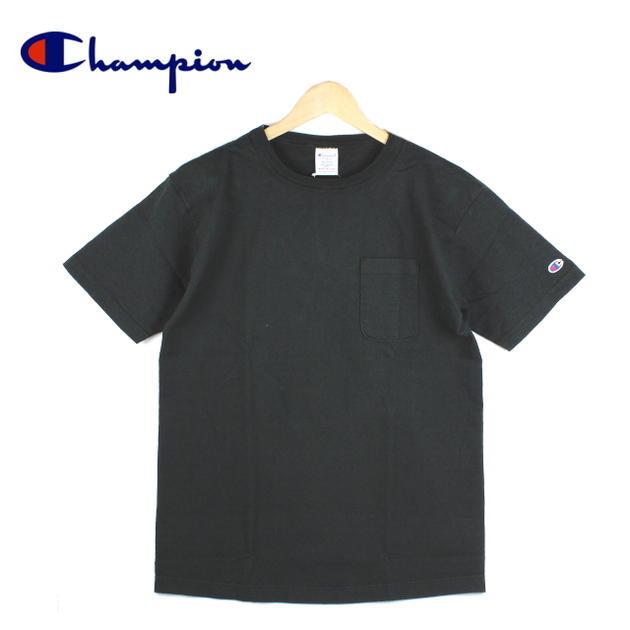 定番 Champion チャンピオン T1011 ポケット付き US Tシャツ C5-B303-090 [WA]【FKOI】