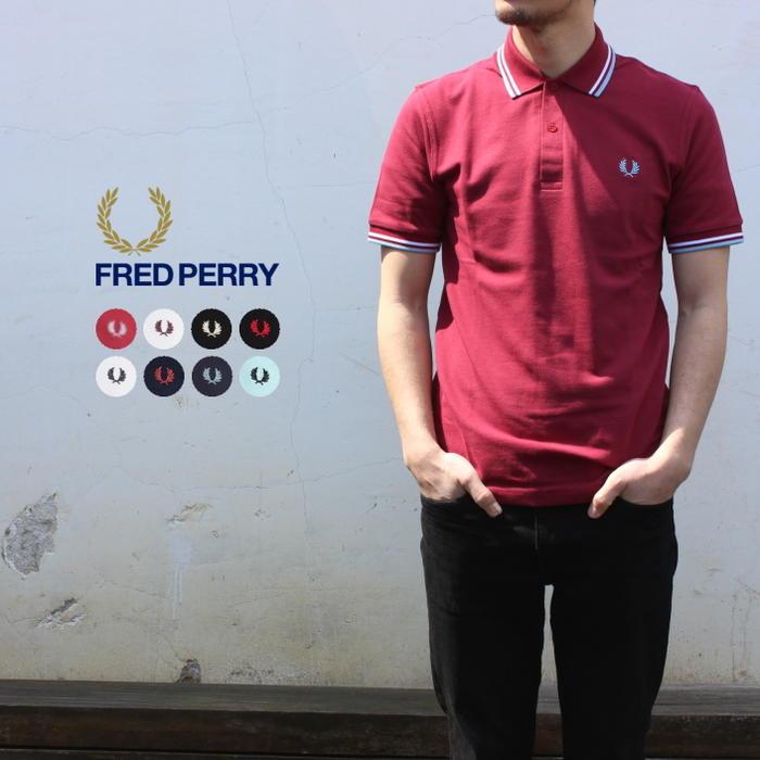 定番 フレッドペリー FRED PERRY ポロシャツ ザ オリジナル ツインティップド フレッドペリー シャツ M12N [WA]【FNOI】