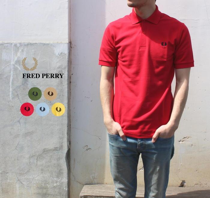 フレッドペリー FRED PERRY THE ORIGINAL FRED PERRY SHIRT ザ オリジナル フレッドペリー シャツ 英国製 M3N H37(MAIZE/DARK CHOCOLATE) E74(SKY/NAVY) 606(OLIVE/BLACK) 671(CARAMEL/NAVY) 956(ENGLAND/NAVY)[WA]【FNOI】