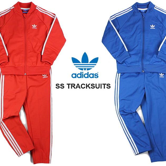red adidas kids tracksuit