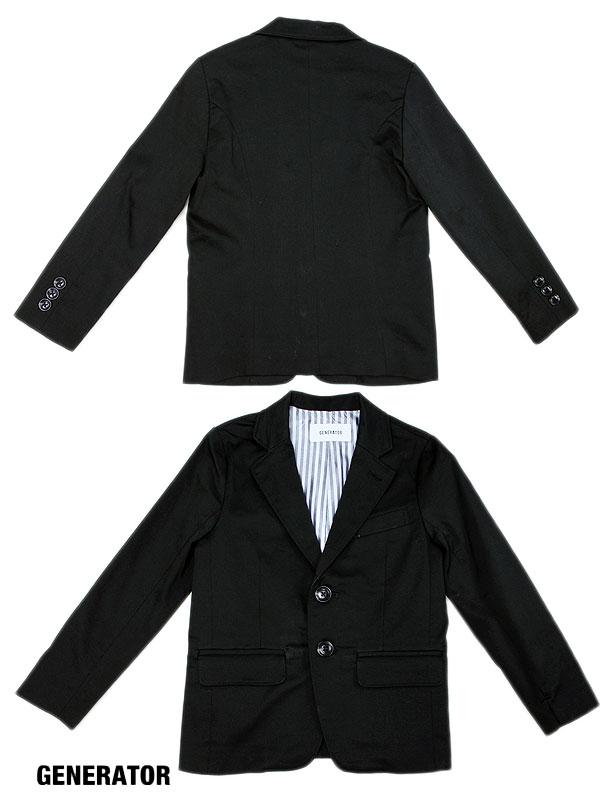 送料無料 ジェネレーター スーツ レギュラーフィット 2B ジャケット 110cm 120cm 130cm 140cm 062105 セール対象外 ノベ対象 子供服 キッズ ベビー ジュニア 男の子 フォーマル 在庫限りで終了