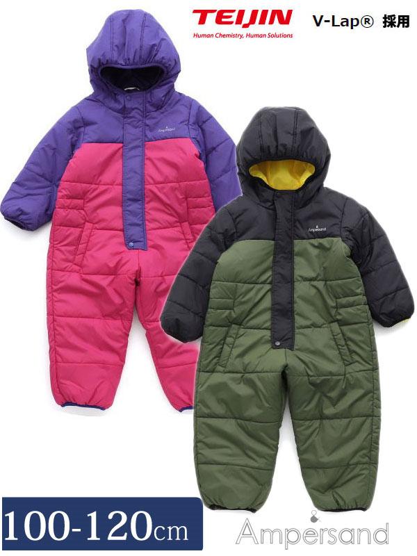 001f8512fc77c ジャンプスーツ雪遊びV-Lap防寒100cm110cm120cmL426058ノベ対象子供服男の子女の子防寒