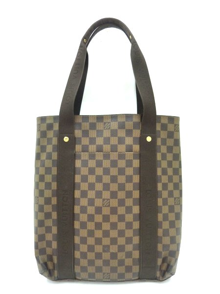【LOUIS VUITTON】ダミエ カバ・ボブール トートバッグ N52006/CA3078/ルイヴィトン【中古】/mn2000803255700040