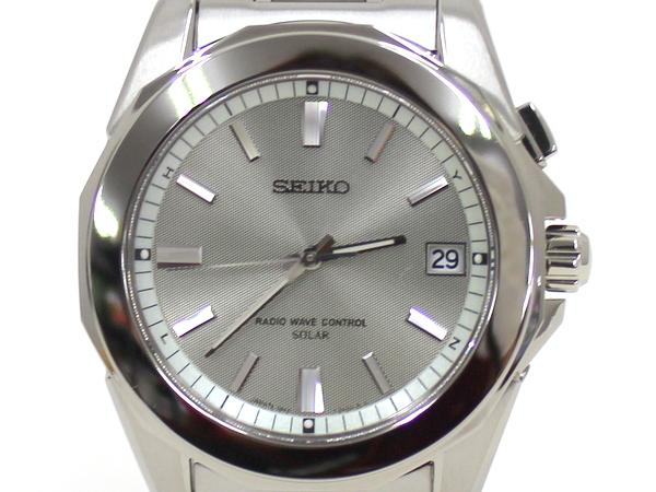 【SEIKO】ブライツ BRIGHTZ メンズ腕時計 SAGZ043/シルバー/セイコー【中古】/C10f4683