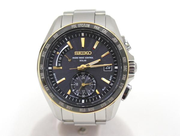 【SEIKO】ブライツ BRIGHTZ メンズ腕時計 SAGA160/ブラック×ゴールド/セイコー【中古】/C10f4682
