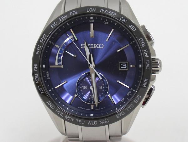 【SEIKO】ブライツ BRIGHTZ メンズ腕時計 SAGA231/ネイビー系/セイコー【中古】/C10f4685