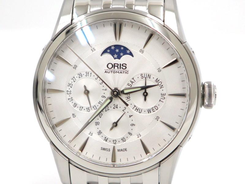 【ORIS】オリス メンズ腕時計 781 7703 4051M/※代引き不可【中古】/ng0146