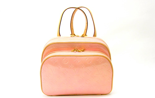 5a532c7ad113 To the cute Louis Vuitton Louis Vuitton Vernis Murray rucksack backpack  pink Marshmallow enamel postage M91039 giveaway!