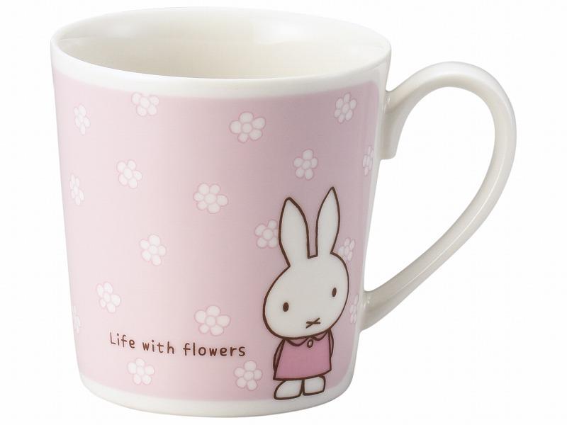 35%OFF 箱不良 ミッフィーファンライフ ピンク 永遠の定番 人気激安 マグカップ