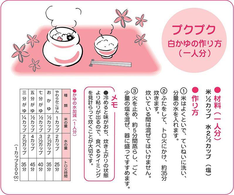 オリジナルこども食器>おかゆ炊きぷくぷく