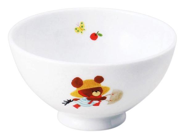 くまのがっこう 物品 ☆最安値に挑戦 ハッピー 軽茶碗