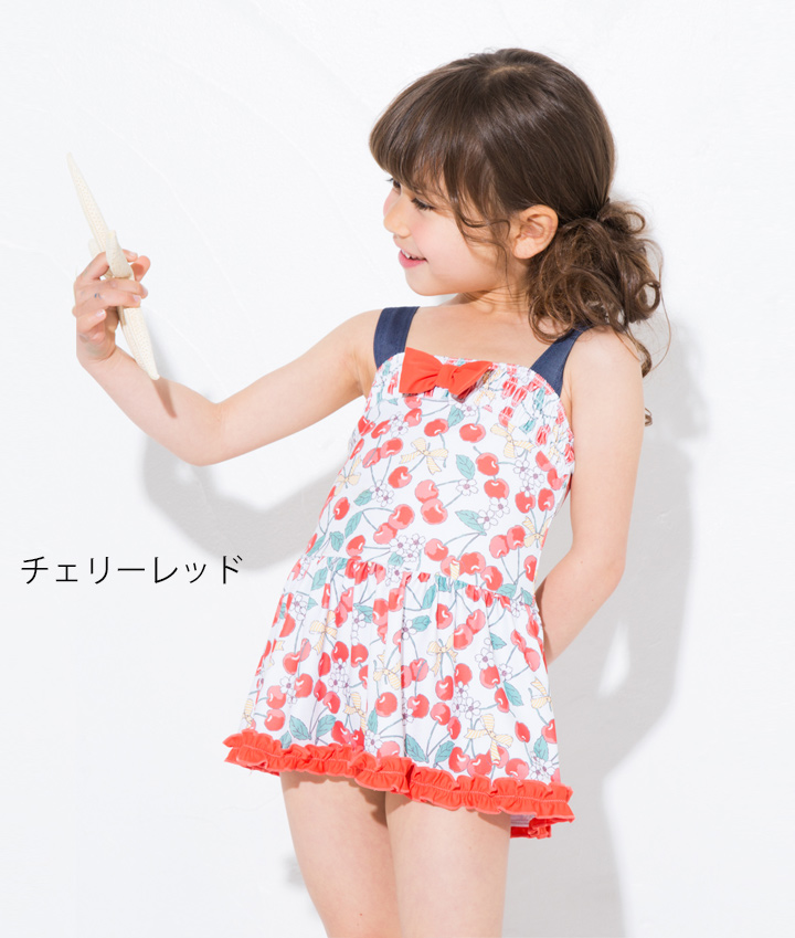 47fbbc960b1cf 2018 summer UZULAND Uz land one-piecers. The latest one-piecer which is  very cute with an A-line dress☆ A lot of patterns that the girl likes for  easy ...