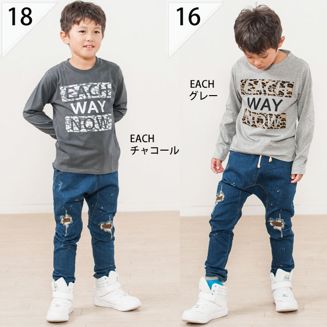 """Korea kids clothes choose from 8 different characters of long-sleeved t-shirt arrived after 750 Yen! (Plus tax) more than 6300 yen (tax included) purchased """"fashionable キッズミオ? t 100 cm 110 cm 120 cm 130 cm 140 cm at"""