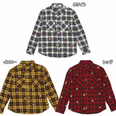 Hystericmini ヒステリックミニ MINI&LOGO総柄刺繍チェックシャツ