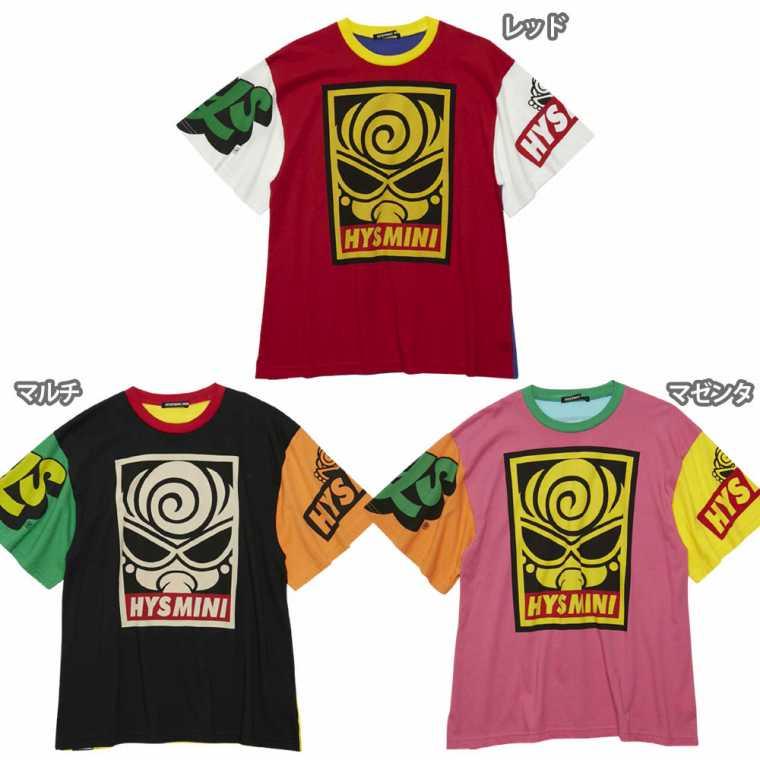 Hystericmini ヒステリックミニ GRAFFTI MINI 配色BIG Tシャツ