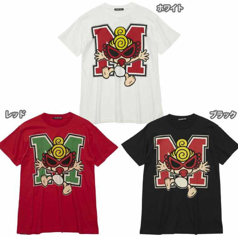 Hystericmini ヒステリックミニ STANDARD CHARCTOR Mロゴ BIG Tシャツ