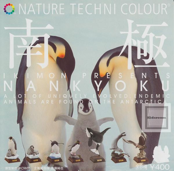 自然彩色南极★全8种安排