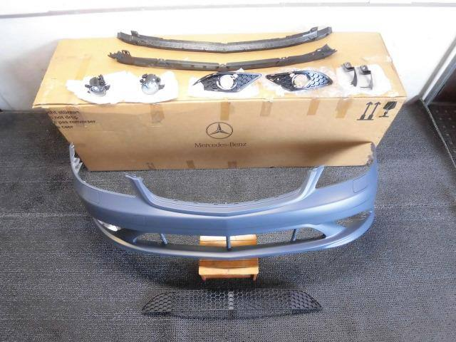 【新品アウトレット】~2009年 ベンツ W221 Sクラス 前期 AMG 純正 フロントバンパー フォグ付き / H2-1340