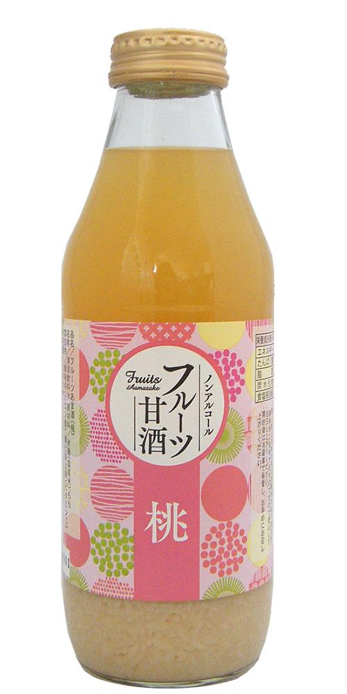 新作続 人気の酒田醗酵の米麹100%甘酒に フルーツ味が新登場しました 訳あり 酒田醗酵 フルーツ甘酒 180ml 山形県 もも