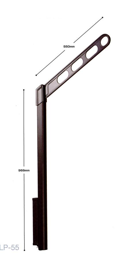 【川口技研 ホスクリーン】LP型 LP-55-LB/LP-55-DB/LP-55-W/LP-55-S腰壁用 ホスクリーン 上下式 ハイグレードタイプ1セット