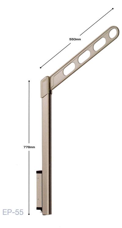 【川口技研 ホスクリーン】EP型 EP-55-LB/EP-55-DB/EP-55-SB腰壁用 ホスクリーン 上下式 スタンダードタイプ1セット