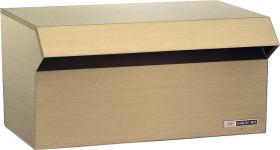 ハッピーポスト 600-AM郵便受け 郵便ポスト壁面埋込及びポール取り付けタイプ(小型サイズ)前入れ後取出し