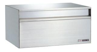 ハッピーポスト 602郵便受け 郵便ポスト壁面埋込及びポール取り付けタイプ(小型サイズ)前入れ後取出し