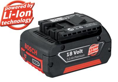 ボッシュ リチウムイオンバッテリー18V 3.0AhA1830 LIB