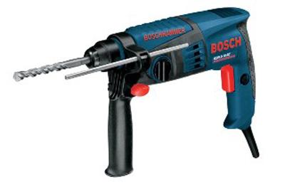 ボッシュ電動工具穴あけ 送料無料でお届けします 破つり ネジ締めハンマードリル軽量ボディ ボッシュ 100%品質保証! RE 電動工具ハンマードリルGBH 2-18