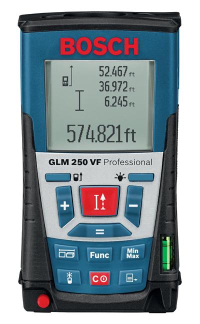 ボッシュレーザー距離計GLM 250 VF