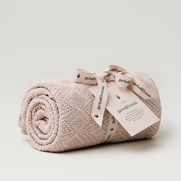 garbofriends ガルボアンドフレンズ Ollie マーケット Pink Blanket コットンブランケット 送料無料新品 タオルケット あったか 暖かい お祝い ベビー キッズ 赤ちゃん MILK ギフト ベビー雑貨 子供服