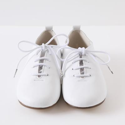スニーカー レザー スニーカー サヤン SAYANG ホワイトコッタシューズ 白 靴 シューズ ユニセックス 手作り ファーストシューズ プレゼント ギフト 子供服