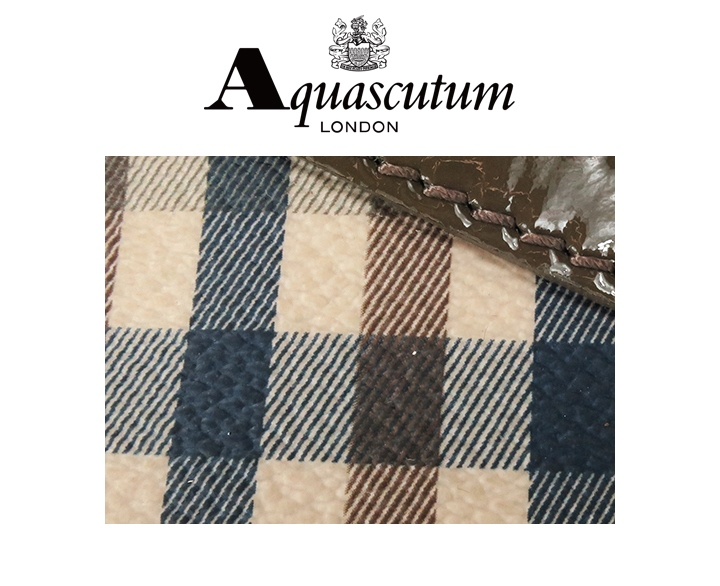 ★ Aquascutum aquascutum 女士 ★ 皮革 resacombiganclub 检查搪瓷开关变形轮廓肩手肩袋袋 aqa l 一 45 526