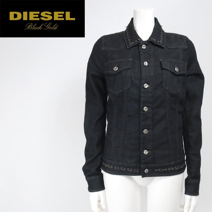 743c7adfb ★ DIESEL BLACK GOLD diesel black gold Womens ' ★ hartmestadzdesign denim  jacket G-Jean die-l-o-48-329