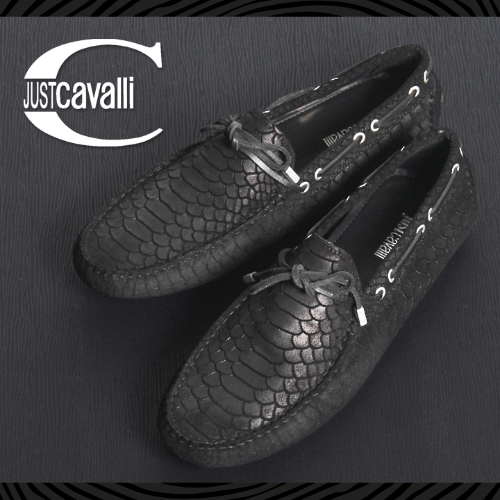 25fba8190902 Just Cavalli just Cavalli mens ♢ leather leather lovernabsawl moccasin men's  shoes men's shoes driving ...