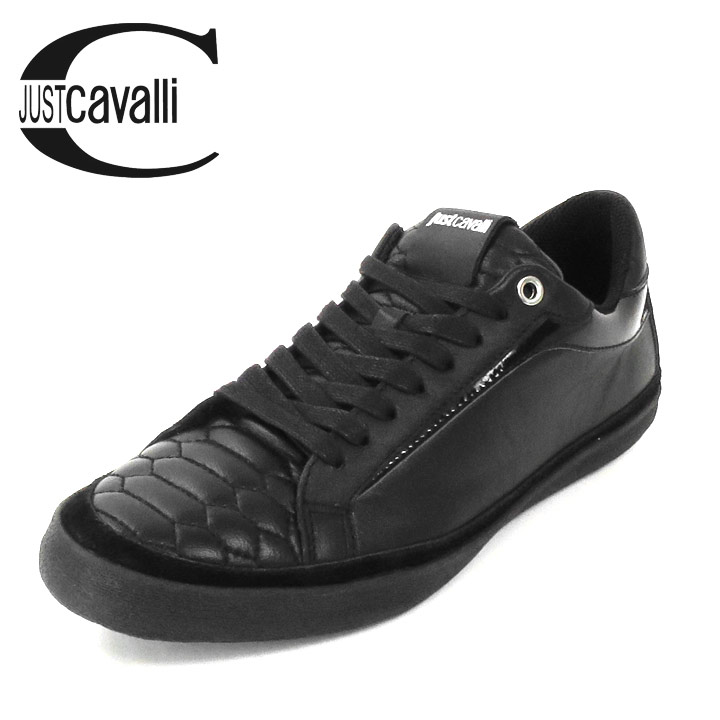 18ece2bf2464 ... ♢ Just Cavalli just Cavalli mens ♢ leather leather enamel accent low  cut men shoes mens shoes Sneakers Shoes jcv-m-k-59-902
