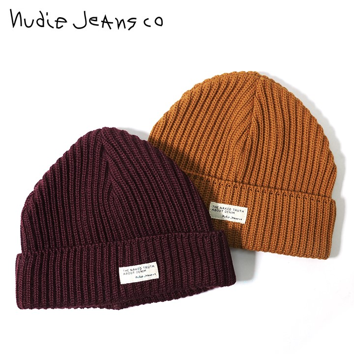 544a4a0dcb7 □Nudie Jeans nudie jeans men gap Dis man and woman combined use □ wool  blend rib knit knit hat knit cap hat ndj-m-a-83-730    maker hope retail  price ...